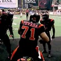Utah Blaze WR Performs Pretty Decent Touchdown Celebration