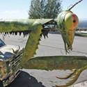 Utahns' 40-foot 'Mantis' to Join Burning Man