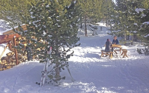 Visiting a Uintas yurt - KATHERINE PIOLI