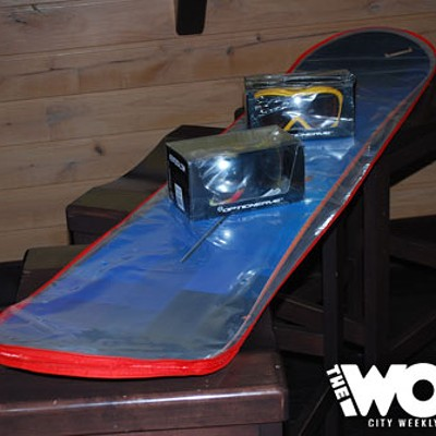 Warren Miller Party & Snowboard Giveaway (10.20.10)