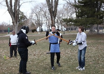 Zionized 73: Sword Fighting With the United Clans Swordsman Association