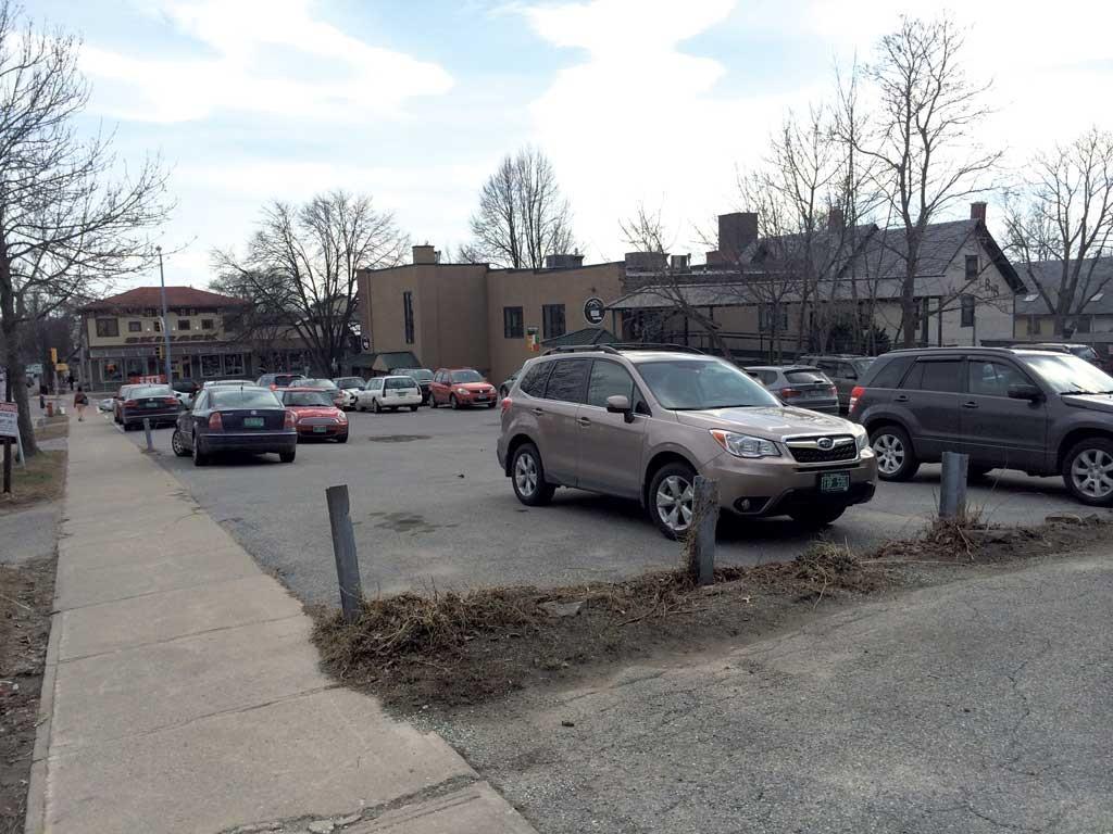 121-123 Pine Street, site