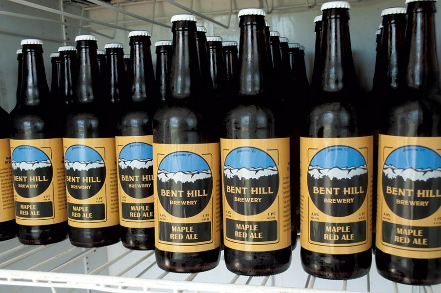 22-oz. bottles for sale at Bent Hill Brewery - COURTESY OF HANNAH PALMER EGAN