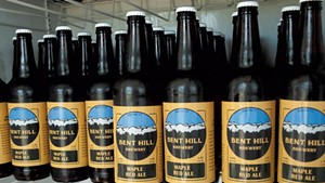 22-oz. bottles for sale at Bent Hill Brewery