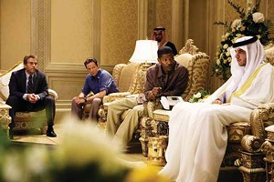 A FAIR SHEIK: FBI investigators implore a Saudi royal to give them access to the crime scene in Peter Berg's politically charged procedural.
