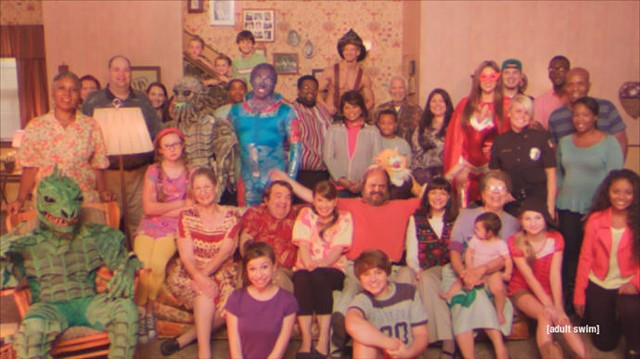 """A full house in """"Too Many Cooks"""" - ADULT SWIM"""
