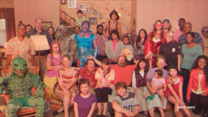 "A full house in ""Too Many Cooks"" - ADULT SWIM"