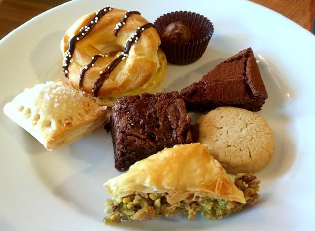 A  judicious selection of desserts - ALICE LEVITT