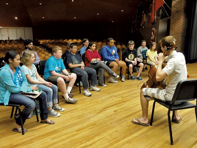 A Music for Minors school visit