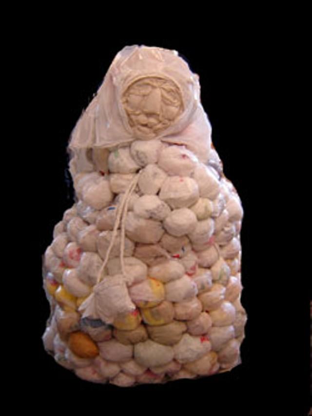 A Plastic Bag Lady by Sophie Hood