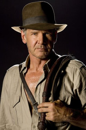 A QUIP IT GOOD Indy hasn't forgotten how to wield his whip or his wisecracks in Spielberg's long-delayed third sequel.