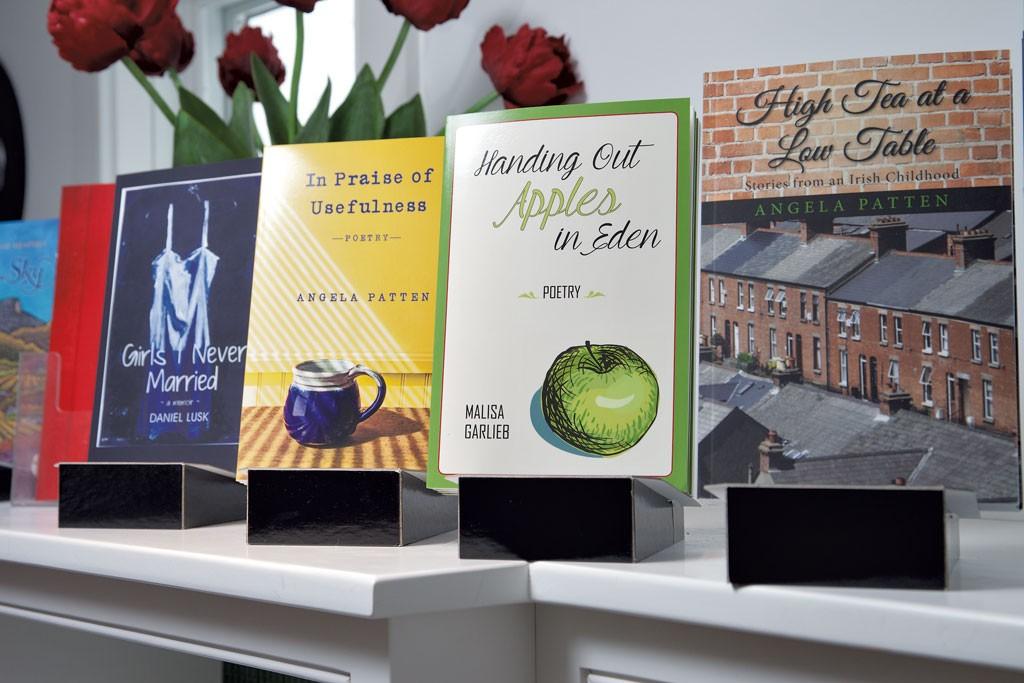 A selection of Wind Ridge Books of Vermont titles - MATTHEW THORSEN