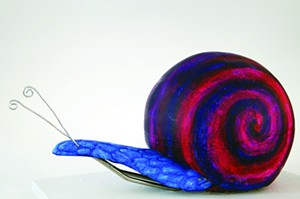 "COURTESY OF CSWD - ""A Snail of Great Scale"" by Michelle Lee"