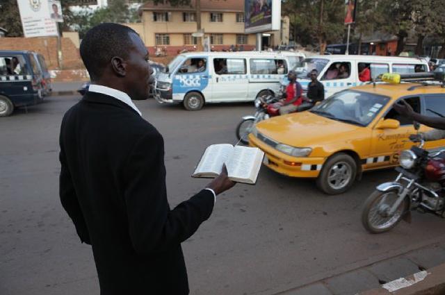 A Ugandan street missionary in God Loves Uganda. - FULL CREDIT PRODUCTIONS