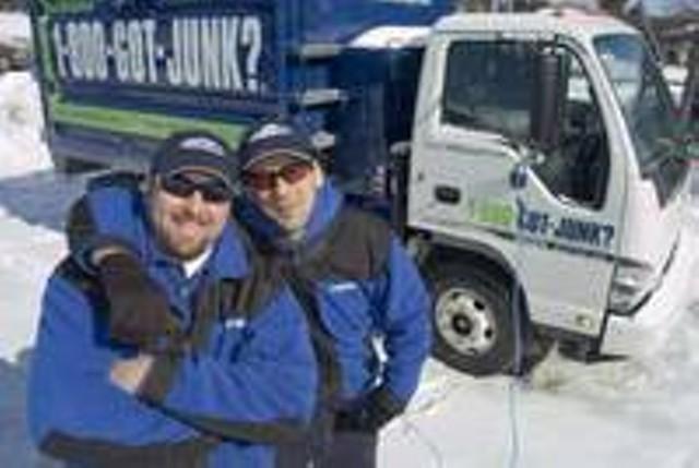 Aaron Fastman (Right) and Jonathon Diamond Last February - MATTHEW THORSEN