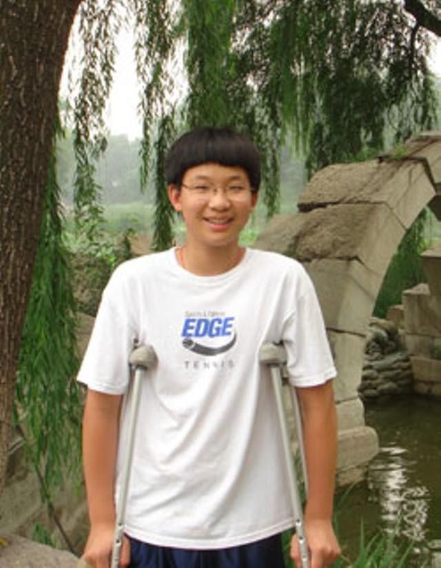 Aaron Xue in Beijing in 2007
