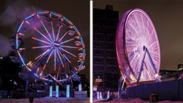 Air France Ferris wheel - COURTESY OF MONTREAL EN LUMIERE