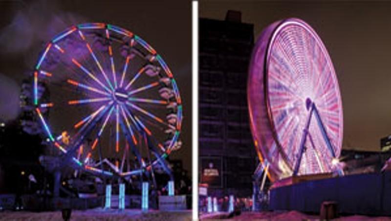 Air France Ferris wheel