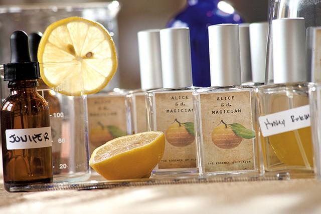 Alice & the Magician's culinary fragrances - MATTHEW THORSEN