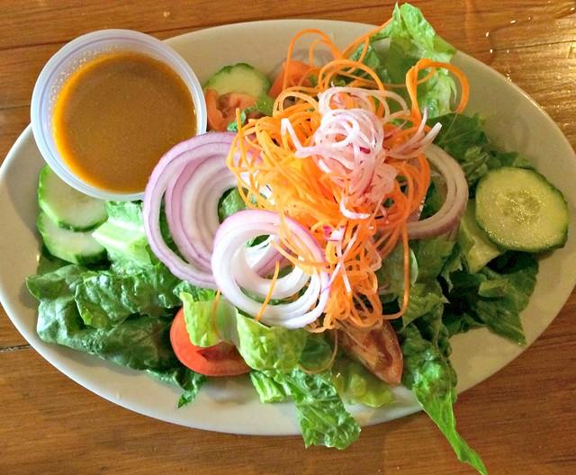 Small house salad, $5 - ALICE LEVITT