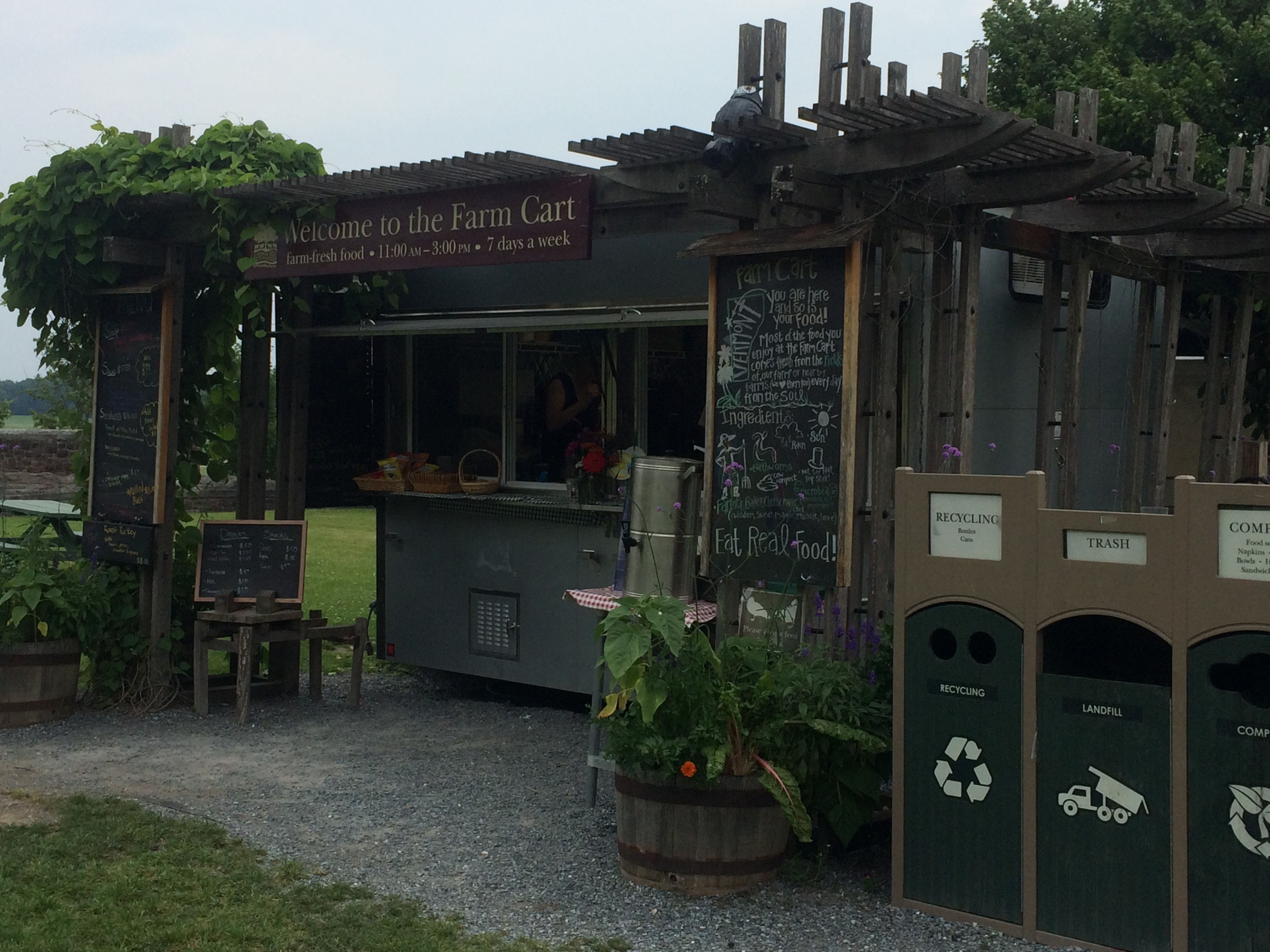 Rooms: Alice Eats: Farm Cart At Shelburne Farms