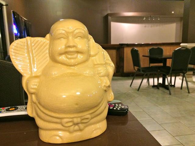 Buddha loves Vietnamese karaoke - ALICE LEVITT