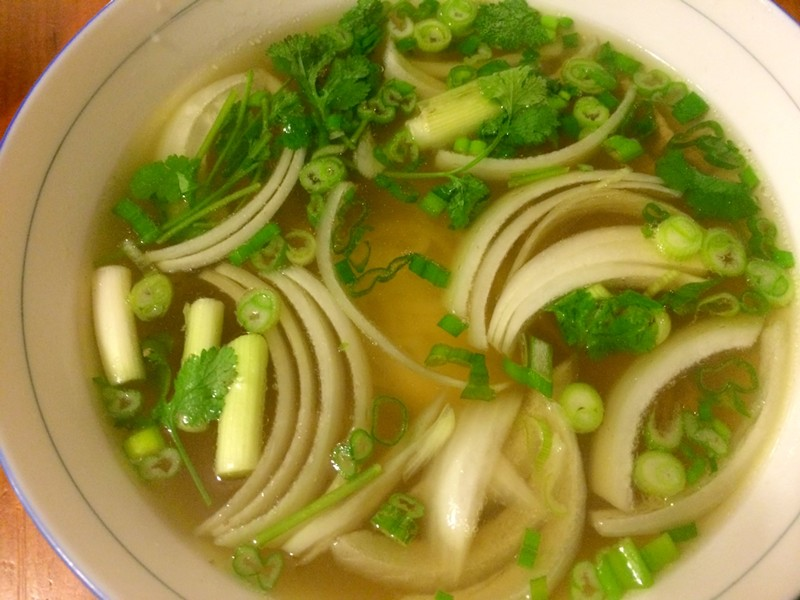 Pho with sliced beef - ALICE LEVITT