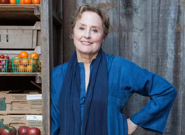 Alice Waters - GILLES MINGASSON