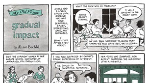 Alison Bechdel in the New Yorker