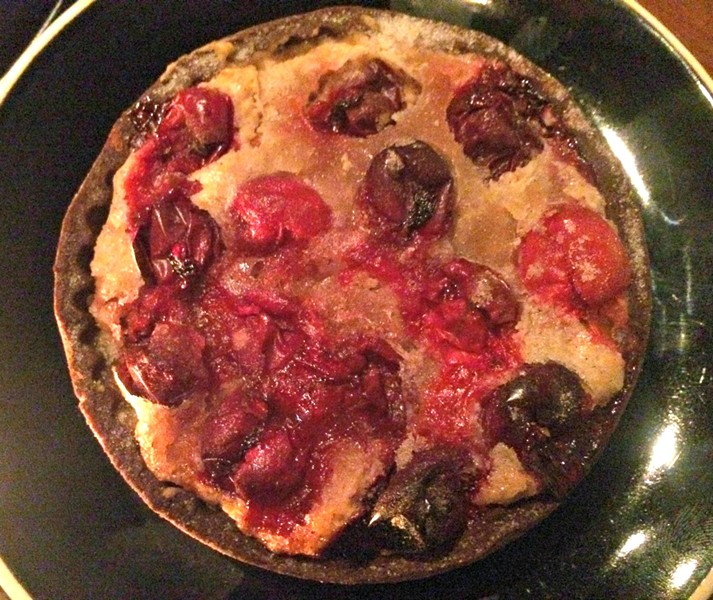 Almond-cranberry tart - ALICE LEVITT