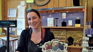 Amrita Parry, a manager at Newport  Natural Market and Café