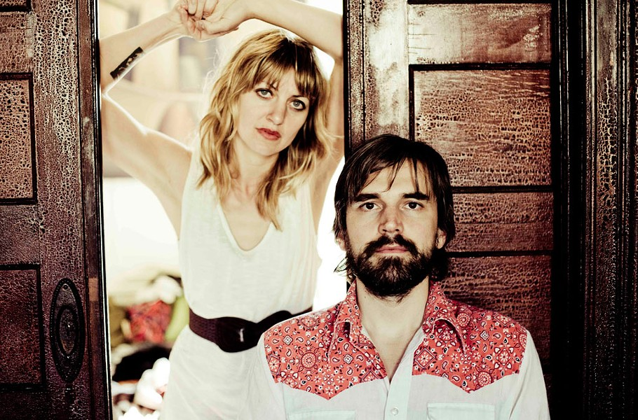 Anaïs Mitchell and Jefferson Hamer - COURTESY OF ANAÏS MITCHELL AND JEFFERSON HAMER