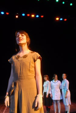 Anaïs Mitchell as Eurydice - JEB WALLACE-BRODEUR