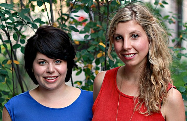 Angela Palm and Jessica Hendry Nelson - COURTESY IMAGE