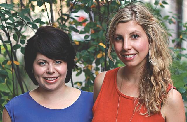 Angela Palm and Jessica Hendry Nelson