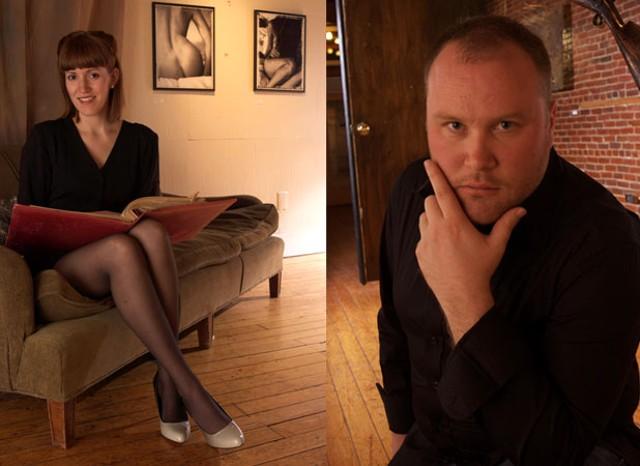 Angie Lizotte and Jason Robinson - MATTHEW THORSEN