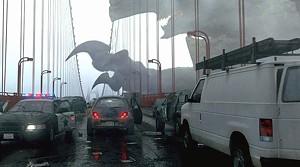 APOCALYPSE REDUX San Francisco is what's for dinner in del Toro's monster movie.