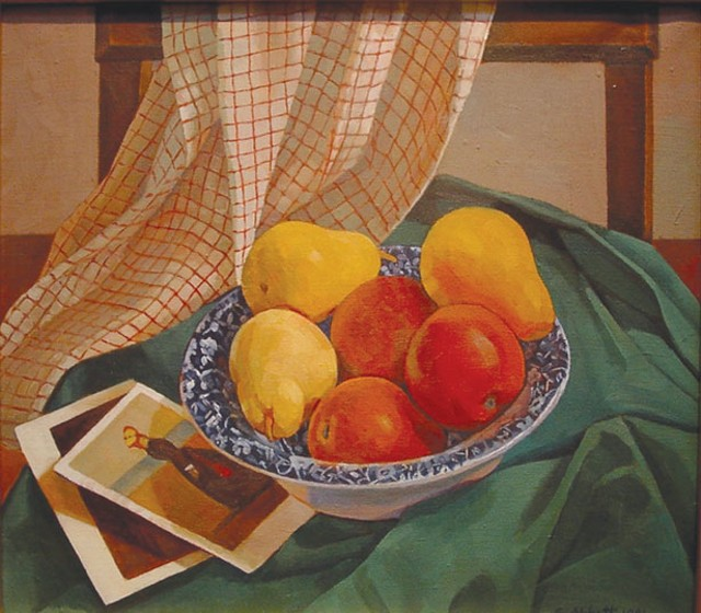 """""""Apples, Pears, Postcards"""" by Susan Abbott"""