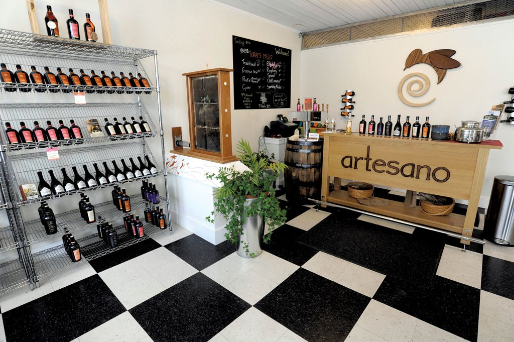 Artesano's tasting room - JEB WALLACE-BRODEUR