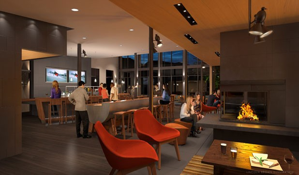Artist rendering of The Roost