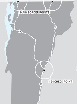 At the Junction of State and Federal Law, I-91 Checkpoint Becomes ...