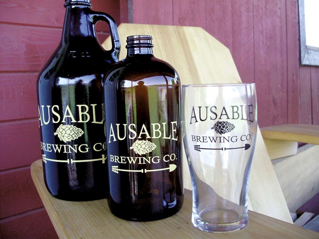 COURTESY OF AUSABLE BREWING CO.