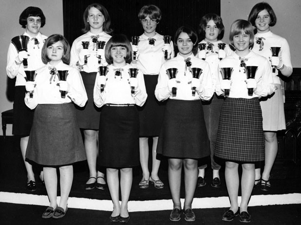 Austin Handbell Choir, 1963