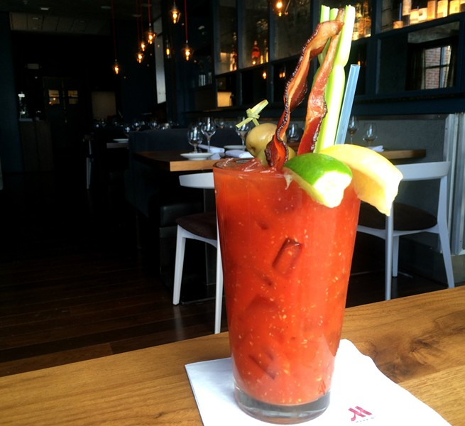Bacon Bloody, $8 - ALICE LEVITT