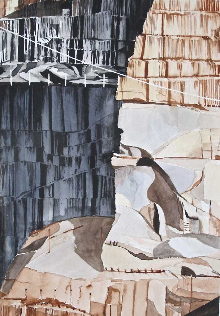 """Barre Granite Quarry"" by Tom Cullins"