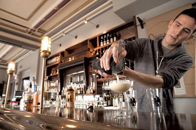 Bartender Niall McMahon