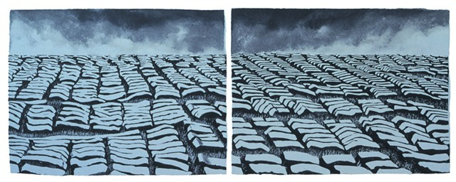 """Bellacra Sod"" by Claire Van Vliet - COURTESY OF SHELBURNE FARMS"