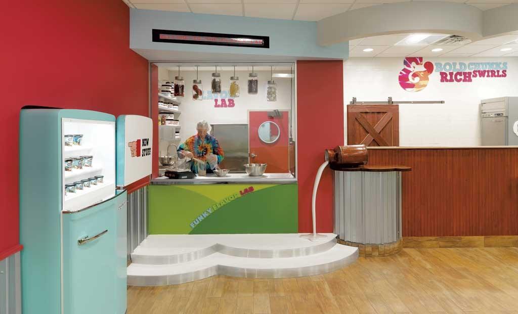 Ben & Jerry's Flavor Lab, Waterbury - COURTESY OF SUSAN TEARE