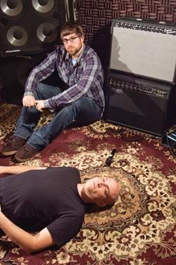 Ben Collette (top) and Rob O'Dea - MATTHEW THORSEN