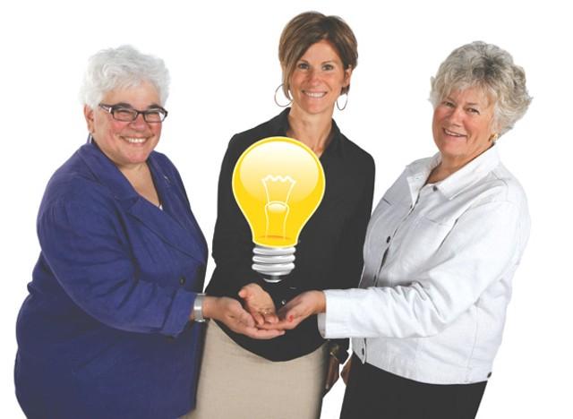 Beth Sachs, Mary Powell and Barbara Grimes - JORDAN SILVERMAN